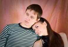 Enamoured couple Stock Photos