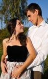 Enamoured outdoor Stock Photo