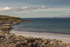 Enard Bay of Atlantic Ocean, Scotland. Stock Photography