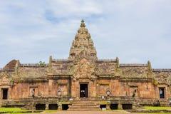 Enarene el castillo de piedra, phanomrung en la provincia de Buriram, Tailandia fotografía de archivo libre de regalías