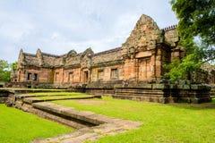 Enarene el castillo de piedra, phanomrung en la provincia de Buriram, Tailandia foto de archivo libre de regalías