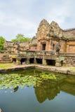 Enarene el castillo de piedra, phanomrung en la provincia de Buriram, Tailandia foto de archivo