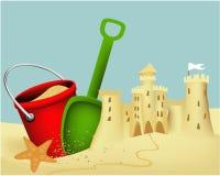 Enarene el edificio del castillo