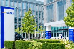 EnBW main offices in Stuttgart,Germany Royalty Free Stock Images