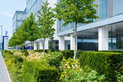 EnBW main offices in Stuttgart,Germany Royalty Free Stock Photography