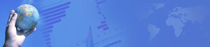Encabeçamento - bandeira Imagem de Stock