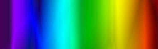 Encabeçamento/bandeira do Web do arco-íris Fotos de Stock Royalty Free
