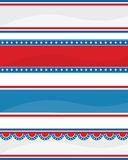 Encabeçamento/bandeira patrióticos ilustração do vetor