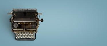 Encabeçamento da máquina de escrever do vintage Imagem de Stock Royalty Free