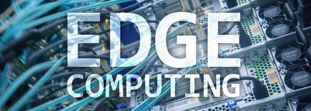 Encabeçamento da site AFIE a computação, o Internet e o conceito moderno da tecnologia no fundo moderno da sala do servidor ilustração stock