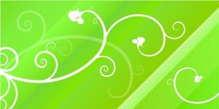 Encabeçamento decorativo Imagem de Stock