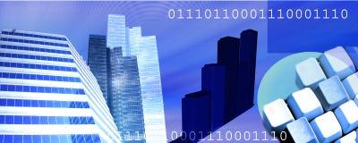 Encabeçamento do Internet Foto de Stock