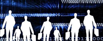 Encabeçamento do Internet Imagens de Stock
