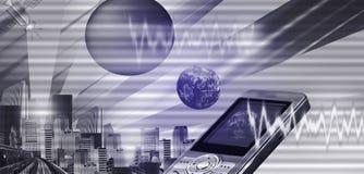 Encabeçamento do Internet (vetor) Fotografia de Stock Royalty Free