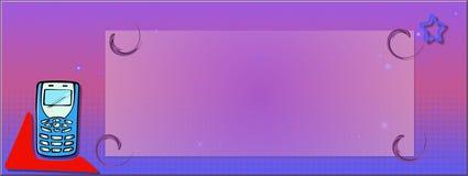 Encabeçamento do Web Foto de Stock
