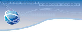 Encabeçamento do Web Fotografia de Stock