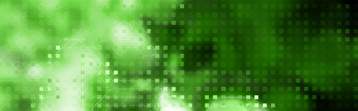 Encabeçamento do Web da tecnologia Fotografia de Stock Royalty Free
