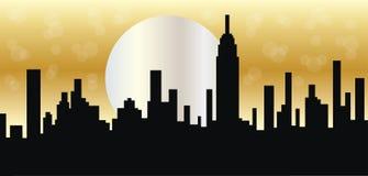Encabeçamento ou bandeira de New York City Foto de Stock
