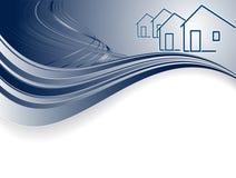 Encabeçamento para bens imobiliários Imagem de Stock Royalty Free