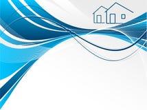 Encabeçamento para bens imobiliários Fotos de Stock