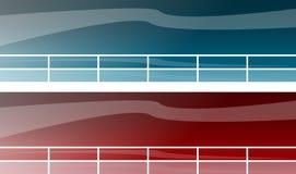 Encabeçamentos do Web site ilustração do vetor