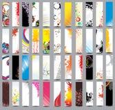 Encabeçamentos verticais Fotografia de Stock