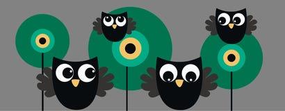 Encabeçamento da coruja Imagem de Stock