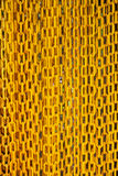Encadenamiento amarillo Imágenes de archivo libres de regalías