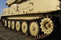 Encadenamiento del tanque ligero británico Foto de archivo