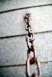 Encadenamiento oxidado Imagenes de archivo