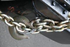 Encadenamiento y gancho de leva Imagen de archivo libre de regalías