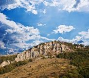 Encadenamientos de montaña imágenes de archivo libres de regalías