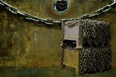 Encadenamientos en collage Imagen de archivo libre de regalías