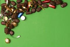 Encadrement de chocolat Images stock