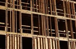 Encadrement en bois Photo libre de droits