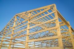 Encadrement en bois de grange images stock