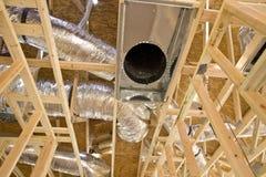 Encadrement intérieur de construction Photographie stock libre de droits