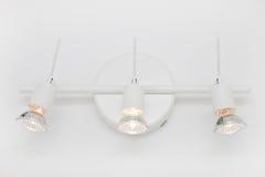 Encaixe moderno da luz do banheiro Foto de Stock Royalty Free