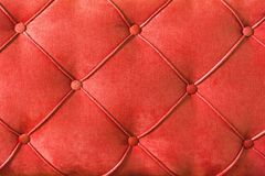 Encaixes da mobília do close-up - sofá estofado espaldar Projeto abstrato da textura fotos de stock