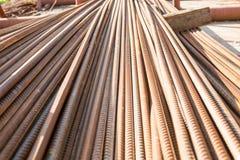 Encaixes de aço para a construção e a construção Imagem de Stock