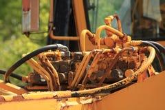Encaixes hidráulicos Foto de Stock