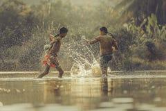 Encaixotamento tailandês Imagem de Stock