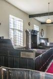 Encaixote bancos e a caixa familiy, capela unitária, Rivington, Reino Unido Imagem de Stock Royalty Free