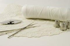Encaje de fantasia y cordón Fotografía de archivo libre de regalías