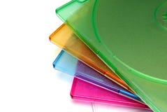 Encajonamiento de un rectángulo para el CD de un disco Fotografía de archivo libre de regalías