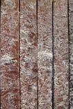 Encalhe a areia do Cararibe branca no solo de madeira do cais Imagem de Stock Royalty Free