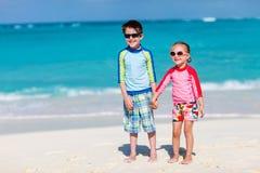 Encalhe férias Imagens de Stock Royalty Free