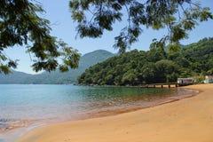 Encalhe Longa em Ilha grandioso, Rio de janeiro- Brasil foto de stock royalty free