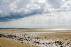 Encalhe no d'Opale da costa perto de Calais, França Fotos de Stock