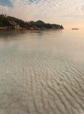 Praia no Koh Tao, Tailândia Foto de Stock Royalty Free